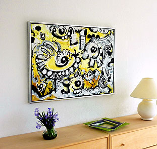 Inspiration, nye billeder fra kunstneren Henrik Koldby